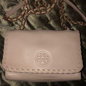 Ivory/light pink crossbody
